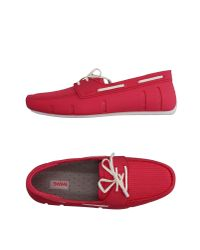Swims | Red Loafer for Men | Lyst