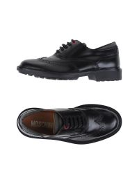 Moschino | Black Lace-up Shoes for Men | Lyst