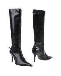 Lea Foscati - Black Boots - Lyst