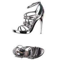 Roberto Cavalli - Multicolor Sandals - Lyst
