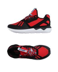 Adidas Originals | Red Low-tops & Sneakers for Men | Lyst