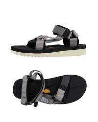 Suicoke - Gray Sandals for Men - Lyst
