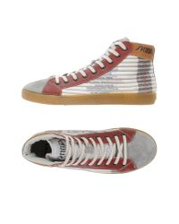 Springa | Gray High-tops & Sneakers for Men | Lyst