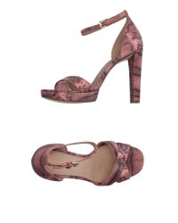 MICHAEL Michael Kors - Pink Sandals - Lyst