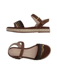 Lola Cruz - Brown Espadrilles - Lyst