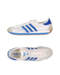 Adidas Originals - White Low-tops & Trainers for Men - Lyst