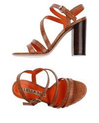 Lella Baldi - Multicolor Sandals - Lyst