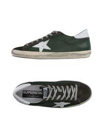 Golden Goose Deluxe Brand   Green Low-tops & Sneakers   Lyst