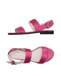Mauro Grifoni | Purple Sandals | Lyst
