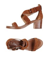 Belle By Sigerson Morrison | Brown Sandals | Lyst