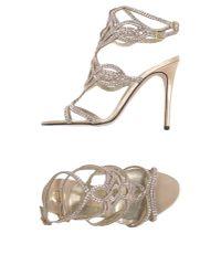 Gina | Natural Sandals | Lyst