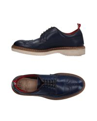 Green George - Blue Lace-up Shoe - Lyst