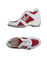 Manufacture D'essai - White Low-tops & Trainers - Lyst