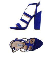 Giampaolo Viozzi - Blue Sandals - Lyst