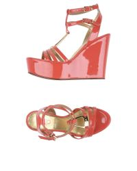 Liu Jo - Red Sandals - Lyst