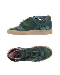 Del Toro - Green High-tops & Sneakers - Lyst