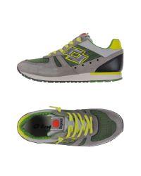 Lotto Leggenda - Gray Low-tops & Sneakers for Men - Lyst