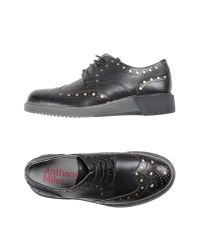 Anthony Miles | Black Lace-up Shoe | Lyst
