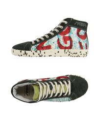 Springa - Green High-tops & Sneakers - Lyst