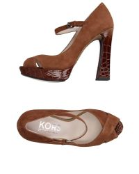 Kors by Michael Kors | Brown Pump | Lyst