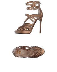 Ernesto Esposito | Multicolor Sandals | Lyst