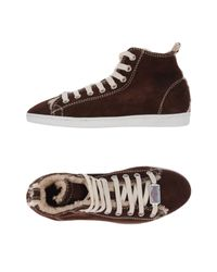 DSquared² | Brown High-tops & Sneakers for Men | Lyst
