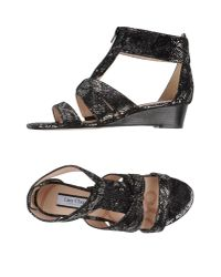 Lucy Choi - Black Sandals - Lyst