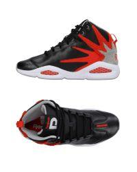 Reebok | Black High-tops & Sneakers for Men | Lyst