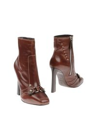 DSquared² - Brown Ankle Boots - Lyst