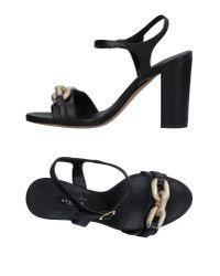 Albano | Black Sandals | Lyst