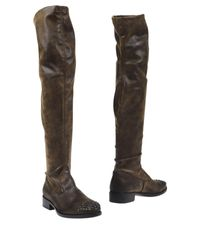 Strategia - Brown Boots - Lyst