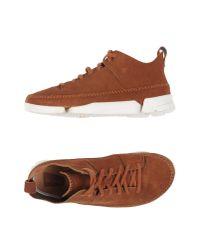 Clarks | Brown High-tops & Sneakers for Men | Lyst