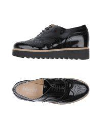 Blugirl Blumarine - Black Lace-up Shoe - Lyst