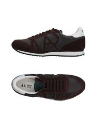Armani Jeans - Brown Low-tops & Sneakers for Men - Lyst