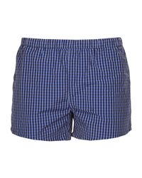 La Perla - Blue Swimming Trunks for Men - Lyst
