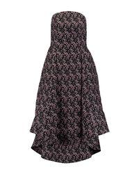 Rosie Assoulin - Black 3/4 Length Dress - Lyst
