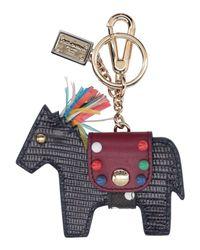Dolce & Gabbana - Purple Key Ring - Lyst