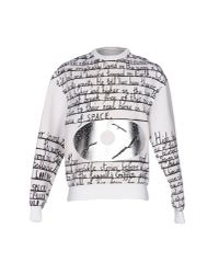Juun.J - White Sweatshirt for Men - Lyst