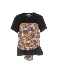 Emilio Pucci - Black T-shirt - Lyst