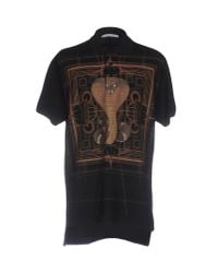 Givenchy - Black Polo Shirt for Men - Lyst