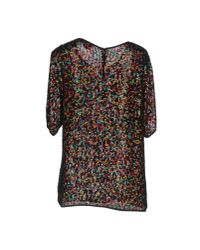 Ashish - Black Blouse - Lyst