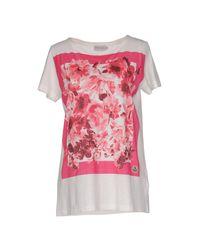 Moncler - White T-shirt - Lyst