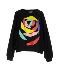 Boutique Moschino - Black Sweatshirt - Lyst