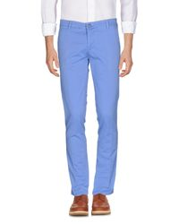 Dimattia - Blue Casual Trouser for Men - Lyst