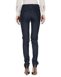 Kiton | Blue Casual Trouser | Lyst