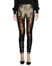 Amen - Metallic Casual Pants - Lyst