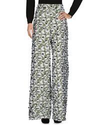 Balenciaga | Green Casual Pants | Lyst