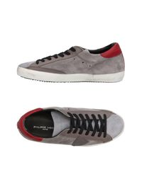 Philippe Model - Gray Low-tops & Sneakers for Men - Lyst