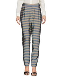 Momoní - Gray Casual Trouser - Lyst