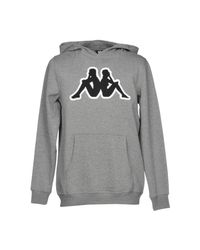 Kappa - Gray Sweatshirt for Men - Lyst